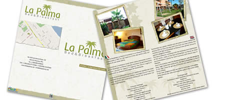 Depliant del Bed & Breakfast La Palma