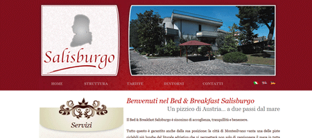 Sito web del Bed & Breakfast Salisburgo